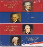 2007 Presidential 8 pc Set - Satin Finish - Original Government Packaging