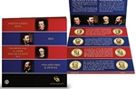 2011 Presidential 8 pc Set - Satin Finish - Original Government Packaging