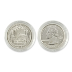 2013 New Hampshire White Mountain Quarter - Philadelphia  - Uncirculated in Capsule