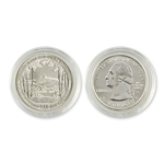 2013 New Hampshire White Mountain Quarter - Denver  - Uncirculated in Capsule