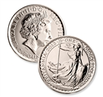 2013 Britannia Silver 1 oz - Uncirculated