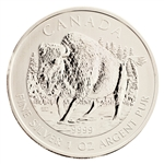 2013 Canadian $5 Wood Bison - Uncirculated