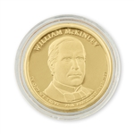 2013 William McKinley Dollar  - Philadelphia - Uncirculated in  a Capsule