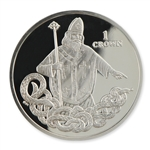 Isle of Man 2013 Silver Proof St. Patrick Coin