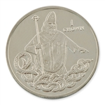 Isle of Man 2013 Clad St Patrick Coin