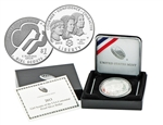 2013 Girl Scouts Commemorative Silver Dollar - Proof