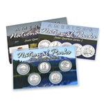 2013 National Parks Quarter Mania Proof Set - San Francisco Mint