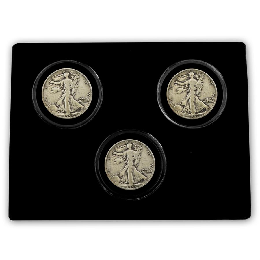 Walking Liberty Half Dollar - Mint Mark - PDS Collection - 1942