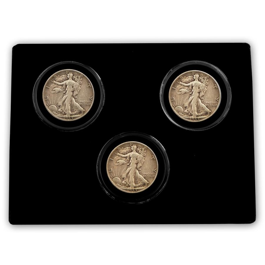 Walking Liberty Half Dollar - Mint Mark - PDS Collection - 1944