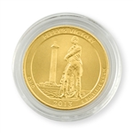 2013 Ohio Perry's Victory Qtr - Denver - Gold in Capsule