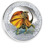 2013 Frilled Neck Lizard Silver Proof