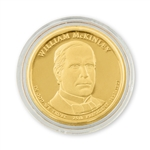 2013 William McKinley Presidential Dollar - Gold - Denver