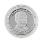 2013 William McKinley Presidential Dollar - Platinum - Philadelphia