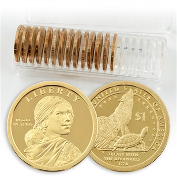 2013 Sacagawea Native American Dollar 10P/10D