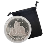 2013 Isle of Man Siberian Cat - Clad Proof