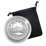 2013 New Hampshire White Mountain Quarter - San Francisco  - Proof in Capsule