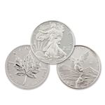 2013 North American 3pc Silver Dollar Set - Uncirculated