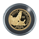 2013 Native American Proof Dollar - Capsule