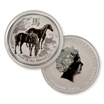 2014 Australian Year of the Horse 1/2 oz Silver