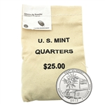 2013 Maryland Fort McHenry  US Mint $25 Bag - Denver