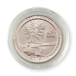 2013 Maryland Fort McHenry Qtr - Philadelphia - Platinum