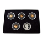 2009 Lincoln Proof Collection - 5 pc - Lincoln Cents and Commemorative Dollar
