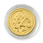 2013 South Dakota Mount Rushmore Qtr - Philadelphia - Gold in Capsule