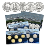 2013 National Parks Quarter Mania Set - P D & Gold