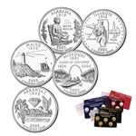 2003 State Quarter Mania - 3 Lens Set - Philadelphia, Denver & 24 Karat Gold