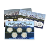 2013 National Parks Quarter Mania Set - Platinum Denver