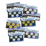 2013 Quarter Mania Sets - Ultimate 6pc - PD Gold Platinum
