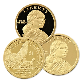 2013 Native American Dollar - PDS