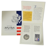 1993 Madison Bill of Rights Coin & Stamp Folio - Proof