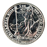 2014 Britannia Silver 1 oz - Uncirculated