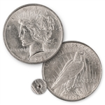 1922 Peace Dollar - San Francisco Mint - Uncirculated