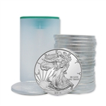2014 American Silver Eagle - Uncirculated - Roll of 20