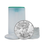 2014 American Silver Eagle - Uncirculated - Roll of 10