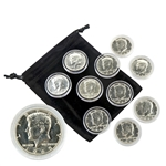 1965 - The 1st 40% Silver Kennedy Bankers Roll of 10