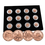 2009 Centennial Lincoln Cent 12pc PDS Set