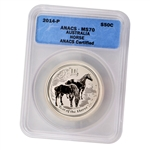 2014 Australian Year of the Horse 1/2oz Silver A70