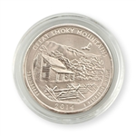 2014 Tennessee Great Smoky Mountains  Quarter - Philadelphia  - Uncirculated in Capsule