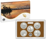 2014 America The Beautiful Proof Set - Quarters Only