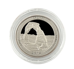 2014 Utah Arches National Park Quarter - San Francisco - Proof in Capsule