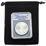 "2014 ""S"" Mint Silver Eagle - Certified Authentic"