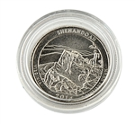 2014 Virginia Shenandoah National Park Quarter - Philadelphia - Uncirculated in Capsule