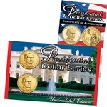 2014 John Calvin Coolidge Presidential Dollar - P/D Lens Set