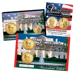 2014 John Calvin Coolidge Presidential Dollar - Upside Down 2pc Set