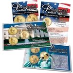 2014 John Calvin Coolidge Presidential Dollar - P/D/S Lens Set