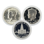 1976 Kennedy Half Dollar Bicentennial Pair - Proof and Uncirculated