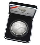 2018 Baseball 90% Silver Dollar – Uncirculated